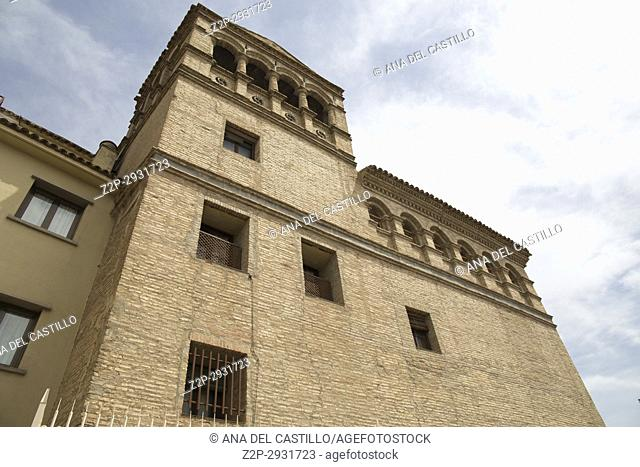 Tauste town Zaragoza Aragon Spain St George monastery