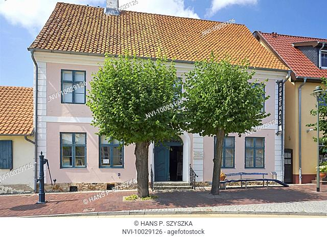 Birthplace of Philipp Otto Runge, Wolgast, Mecklenburg-Western Pomerania, Germany