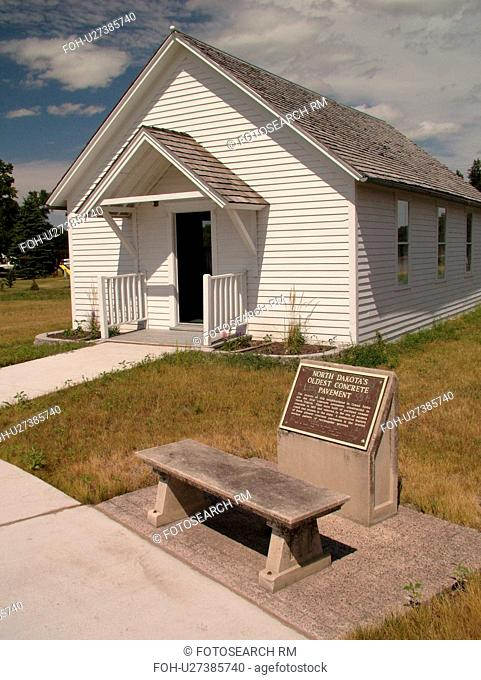 Grand Forks, ND, North Dakota, Myra Museum and Campbell House, One Room Schoolhouse