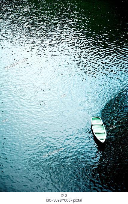 Boat, Takachiho falls, Miyazaki, Kyushu, Japan