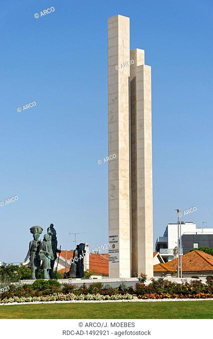 roundabout of the pilgrims, Fatima, district Santarem, Regiao do Centro, Portugal, Europe