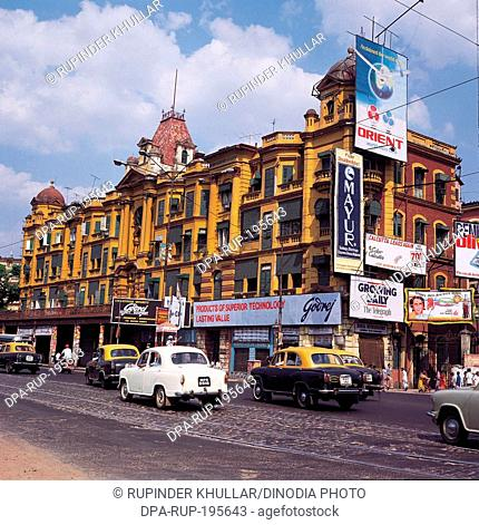 Street scene, calcutta, west bengal, india, asia