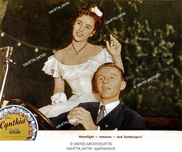 Cynthia, USA, 1947, Regie: Robert Z. Leonard, Darsteller: Elizabeth Taylor, Jimmy Lydon