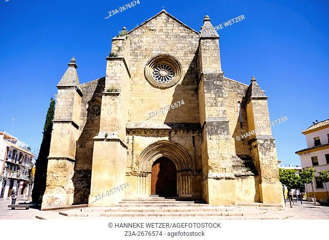Iglesia de Santa Marina de Aguas Santas, a church in Cordoba, Spain, Europe