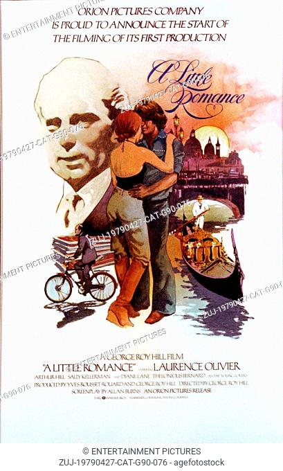 RELEASE DATE: April, 2, 1979. STUDIO: Orion Pictures Corporation. PLOT: A French boy (Daniel) and an American girl (Lauren), who goes to school in Paris