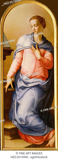Virgin Annunciate, 1540-1545. Artist: Bronzino, Agnolo (1503-1572)