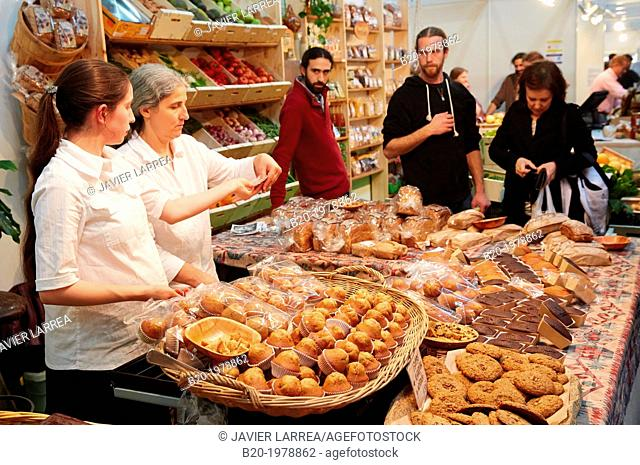 Ecological Bakery. Bioterra, fair of organic products, green building, renewable energy and responsible consumption, Ficoba, Irun, Gipuzkoa, Basque Country