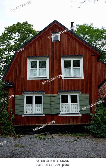 Schweden, Stockholm, Haus in der Fjällgatan