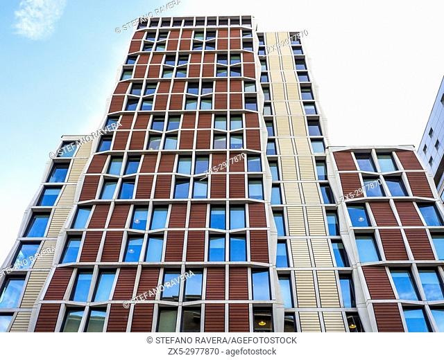 Pure Aldgate student accommodation, Whitechapel -= London, England