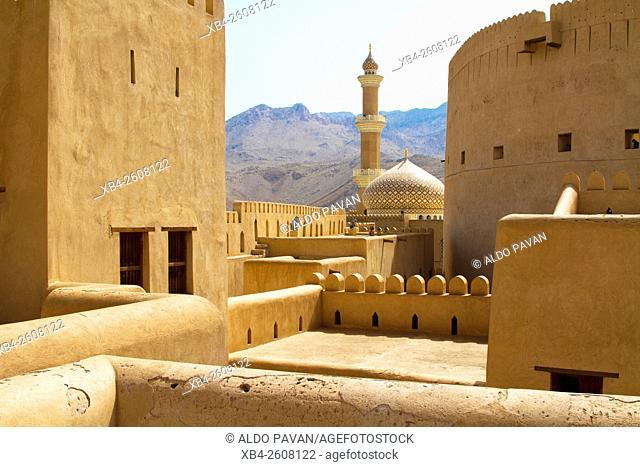 Oman, Nizwa, castle