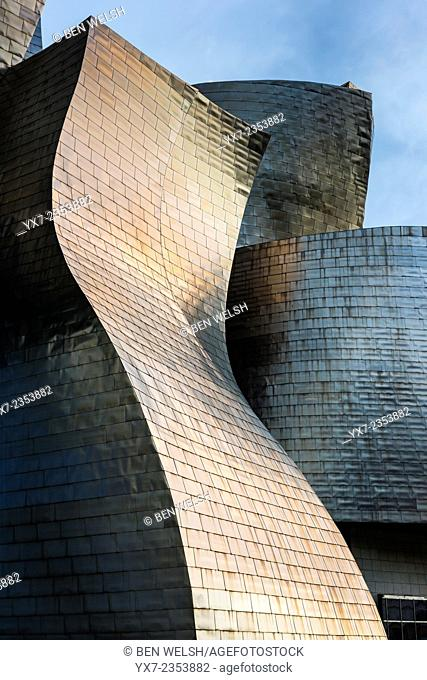 Guggenheim Museum. Bilbao, Basque Country, Spain