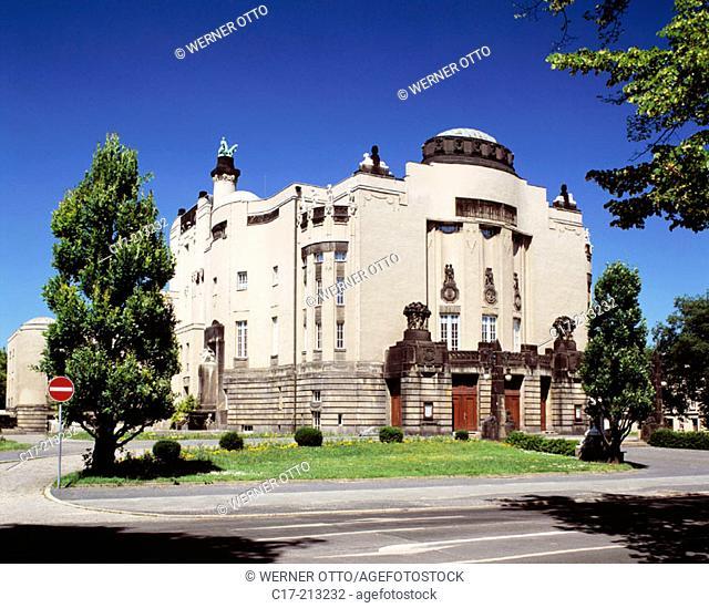 Germany, Cottbus, Lower Lusatia, Brandenburg, State Theatre