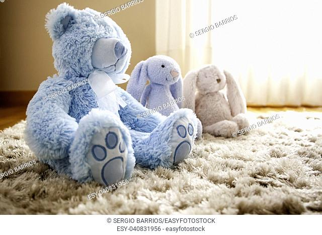 Teddy bears, soft and soft stuffed animals, tenderness and affection
