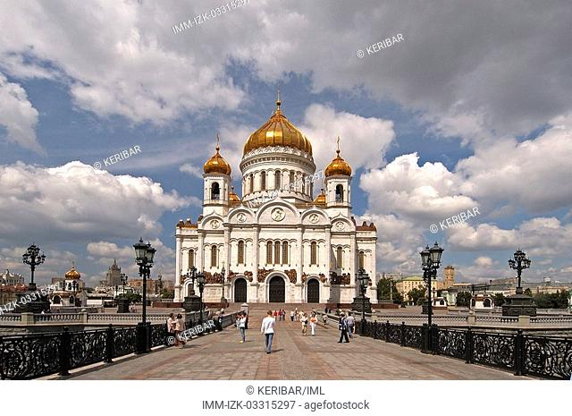 Cathedral of Christ the Redeemer , Moscow, Russia, Europe