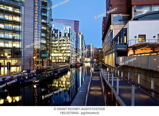 Office and Residential Buildings, Paddington Basin Development, London, England