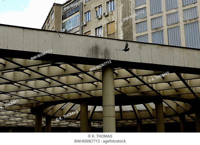 roof with a grid structure, Serbia-Montenegro, Belgrade