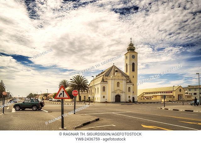 Lutheran Church, Walvis Bay, Namibia, Africa