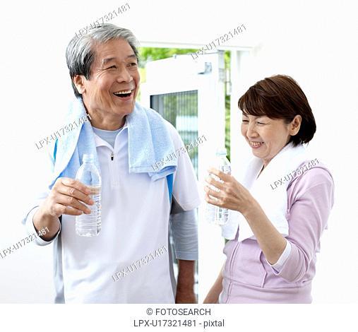 Sporty Senior Couple