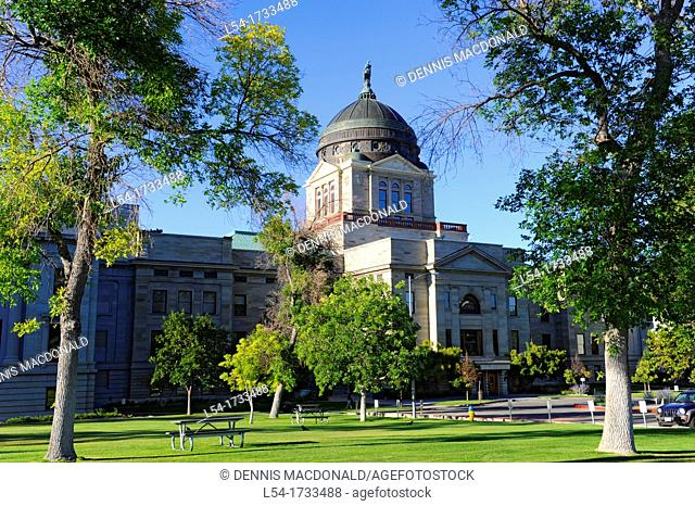 Montana State Capitol Building Helena MT US