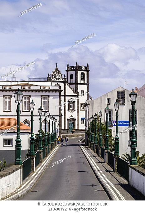 Bridge in Nordeste, Sao Miguel Island, Azores, Portugal