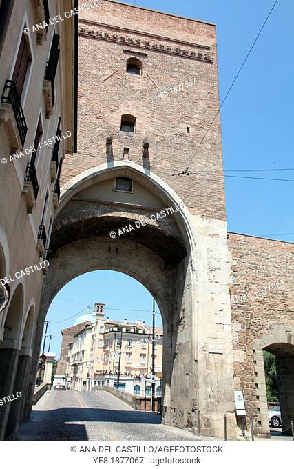 Arch walls, Ponte Molino, Padova, Veneto, Italy