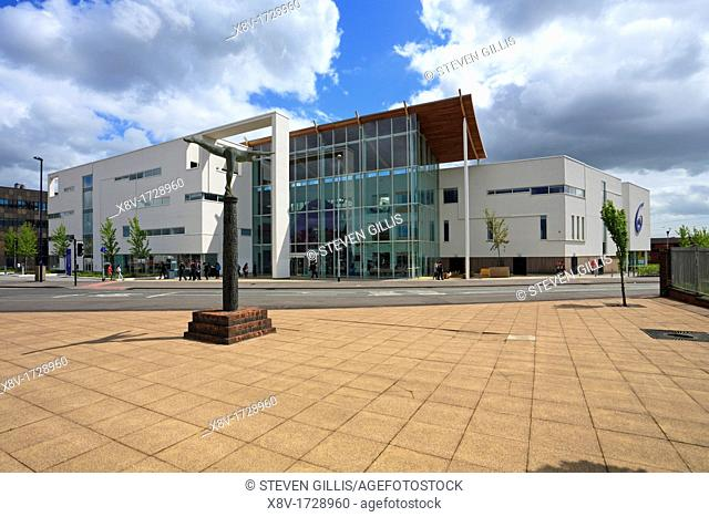 The Sixth Form College, Stoke on Trent, Staffordshire, England, UK