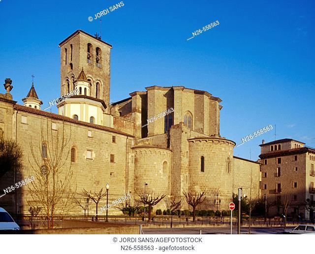 Cathedral. S. XIII-XV. Solsona. Solsonès. Lleida province. Catalunya. Spain