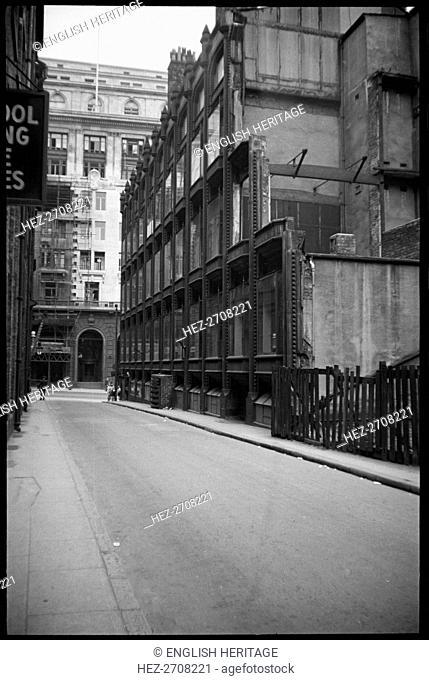 Oriel Chambers, Water Street, Liverpool, Merseyside, c1955-c1980. Creator: Ursula Clark