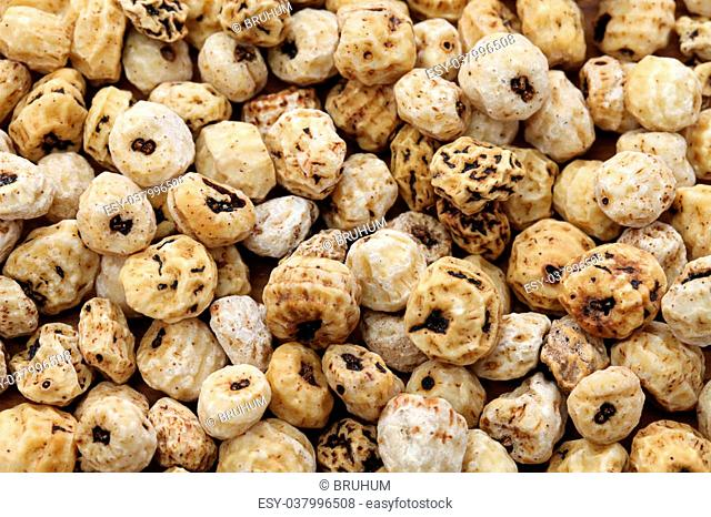tiger nuts, spanish chufa, superfoods isolated