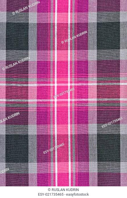 red and gray plaid fabric