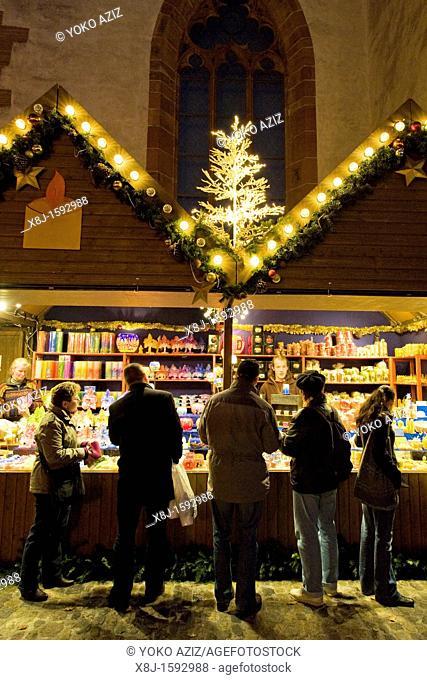 Christmas markets, Basel, Switzerland