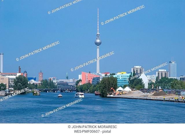 Germany, Berlin, Cityscape with Television Tower