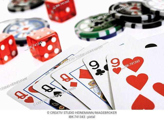 Poker game - full house