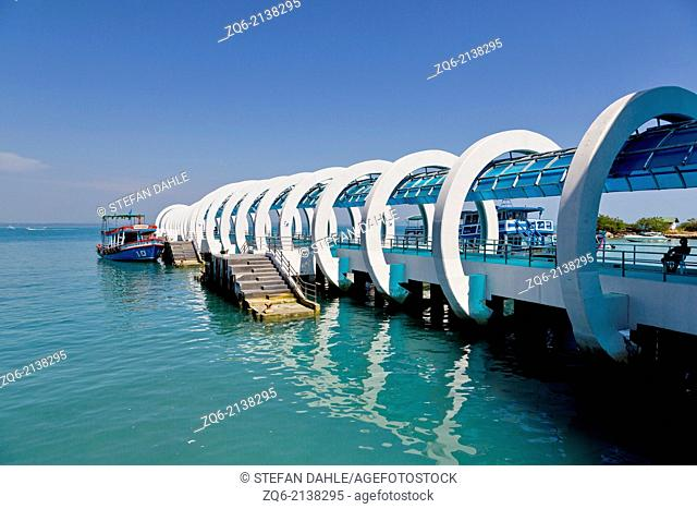 Nadan Pier on Ko Samet Island, Thailand