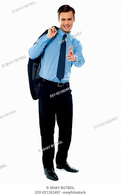 Portrait of professional handsome executive
