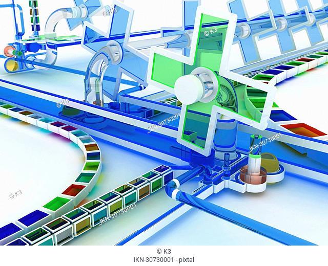Complex factory