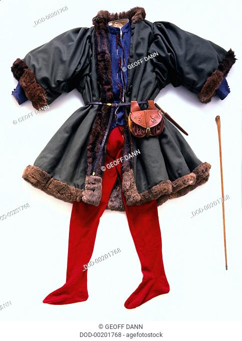 Clothing of Middle-class Medieval Merchant