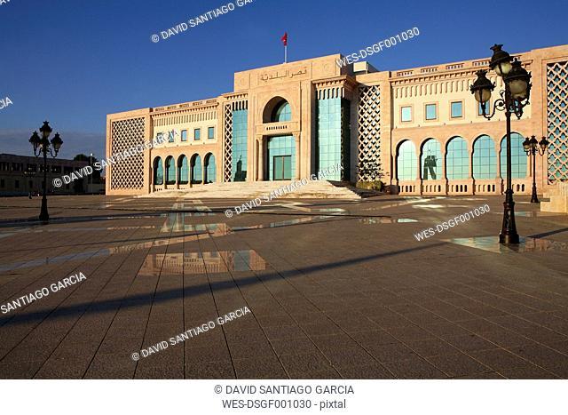 Tunisia, Tunis, view to presidential palace