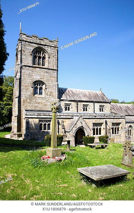 Parish Church of St Wilfrid Burnsall Wharfedale Yorkshire Dales England