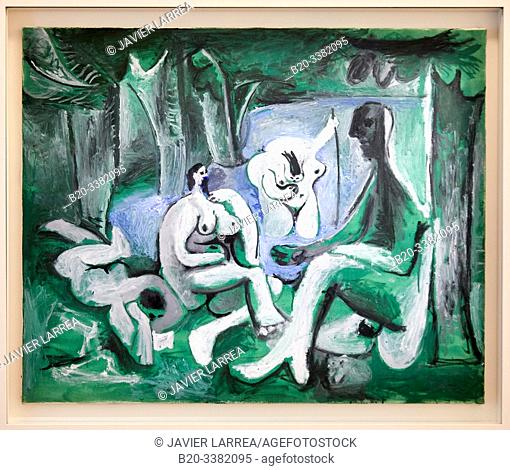 """""""Le Déjeuner sur l'herbe d'après Manet"""", 1961, Pablo Picasso, Picasso Museum, Paris, France, Europe"""