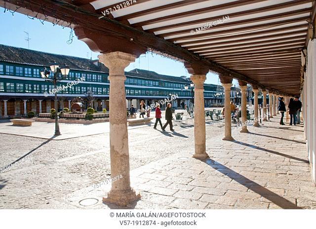 Main Square. Almagro, Ciudad Real province, Castilla La Mancha, Spain
