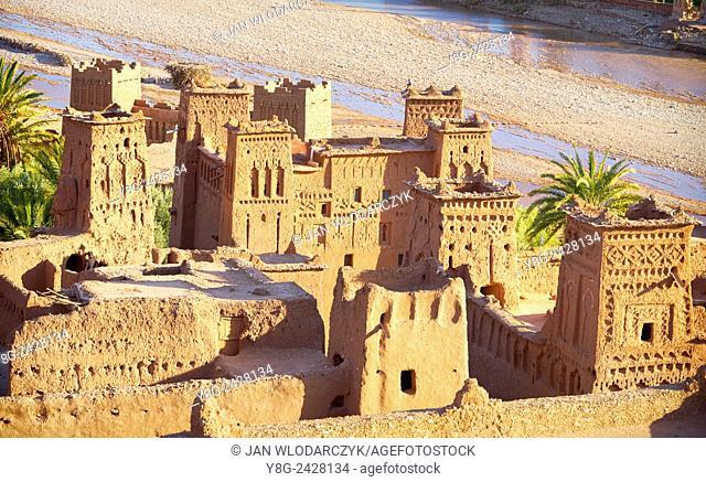 Ait Benhaddou fortress near Ouarzazate, Morocco