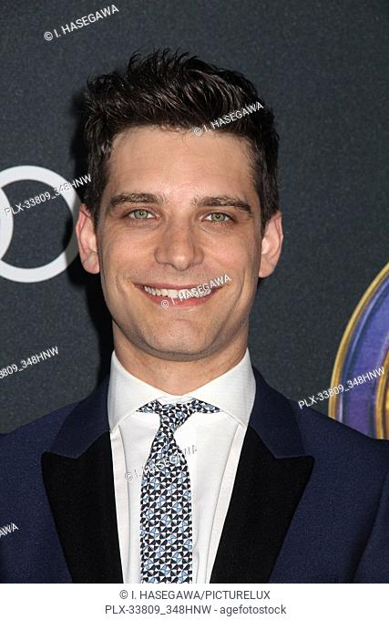 """Jeff Ward 04/22/2019 The world premiere of Marvel Studios' """"""""Avengers: Endgame"""""""" held at The Los Angeles Convention Center in Los Angeles, CA"""