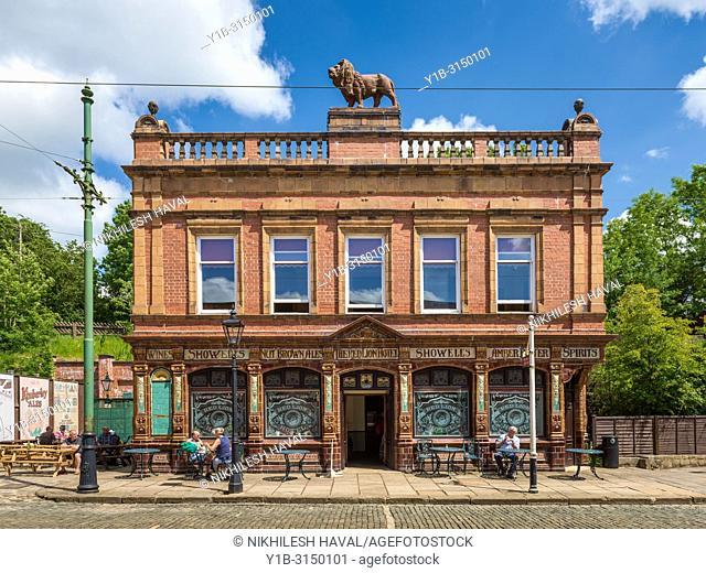 Crich Tramway Village Museum, Derbyshire, UK