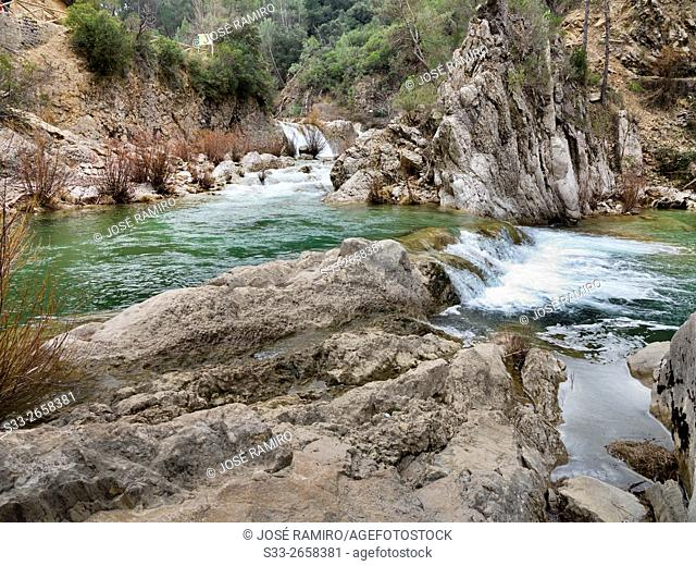 River Borosa in Jaen. Andalucía. Spain. Europe