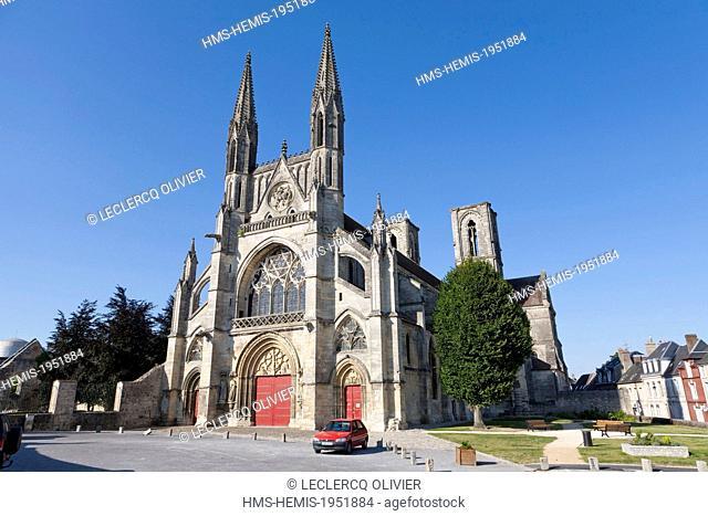 France, Aisne, Laon, church of Saint Martin