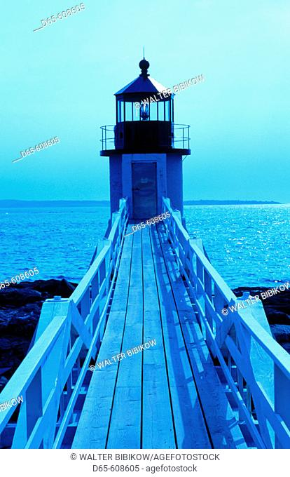 Marshall Point Light. Port Clyde. Maine. USA