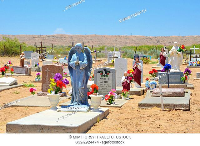 cemetery of Sabinal, New Mexico