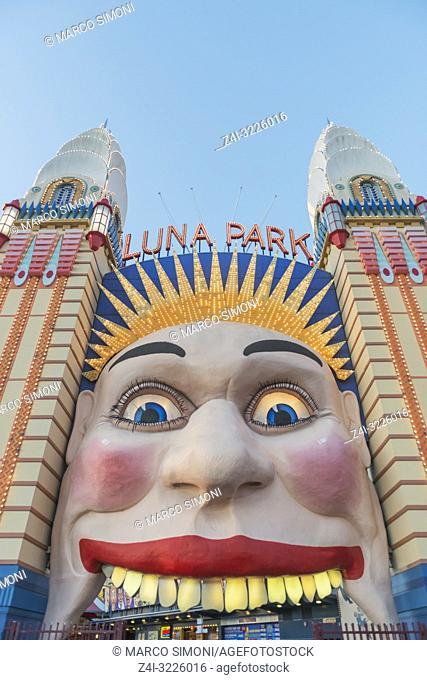 Luna Park, Sydney, New South Wales, Australia,