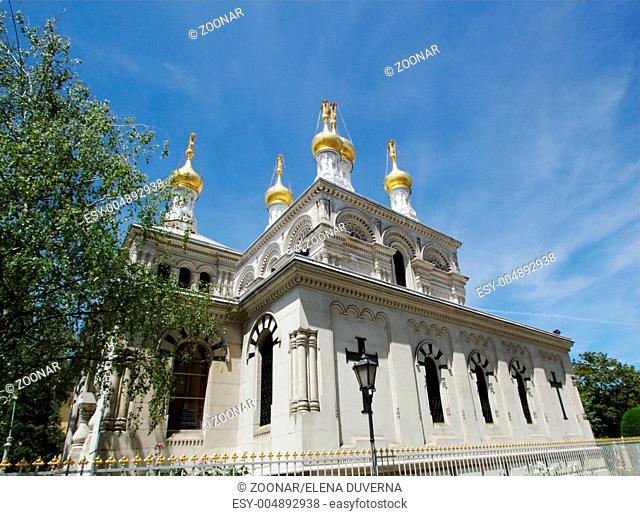 Russian church, Geneva, Switzerland